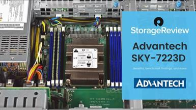 Advantech SKY-7223D Review -by StorageReview