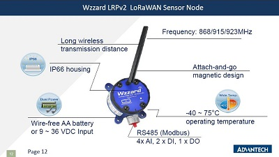 Advantech IIoT Intelligent Connectivity 2018 LoRaWAN Webinar